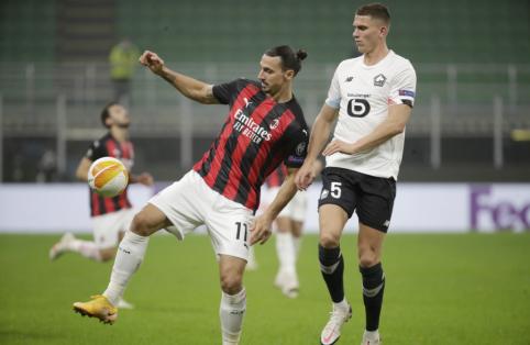 """Z. Ibrahimovičius netrukus pratęs sutartį su """"Milan"""""""