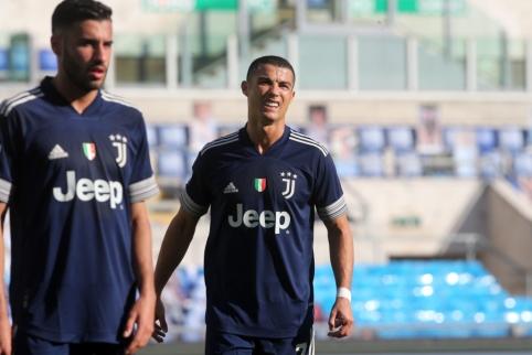 """AS: """"Juventus"""" nusprendė parduoti C. Ronaldo"""