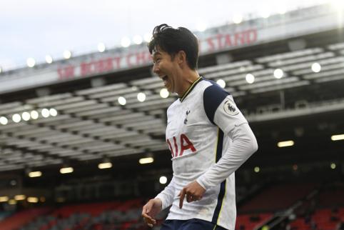 """H-M. Sonas padėjo parašą po nauja sutartimi su """"Tottenham"""""""
