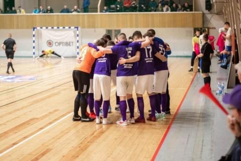 Čempionai ir vicečempionai Futsal A lygos sezoną pradėjo sunkiomis pergalėmis