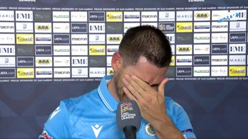 Po antrų iš eilės lygiųjų – San Marino žaidėjo ašaros