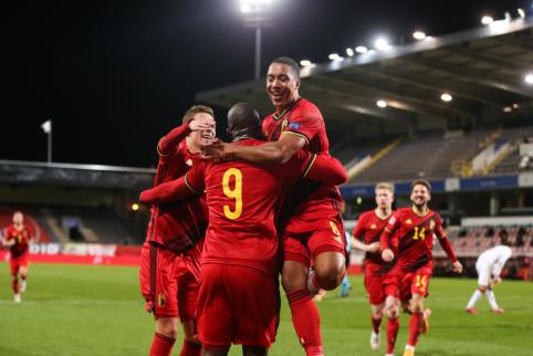 Italai ir belgai žengė į UEFA Tautų lygos finalo ketvertą