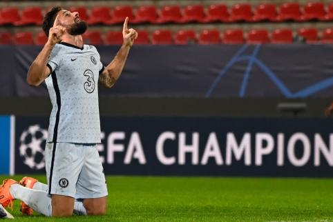 """O. Giroud už simbolinę sumą turėtų persikelti į """"AC Milan"""""""