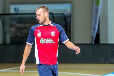 """Futsal A lygos atkrintamosios prasidėjo raudonų kortelių lietumi ir """"VIP"""" pergale"""