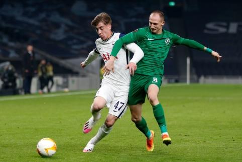 """""""Tottenham"""" ir """"Bayer"""" šventė lengvas pergales Europos lygoje"""