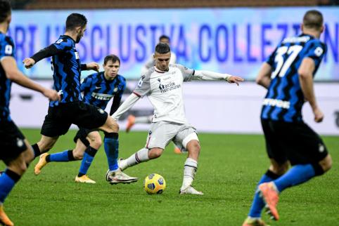 """""""Inter"""" Italijoje iškovojo trečiąją pergalę iš eilės"""