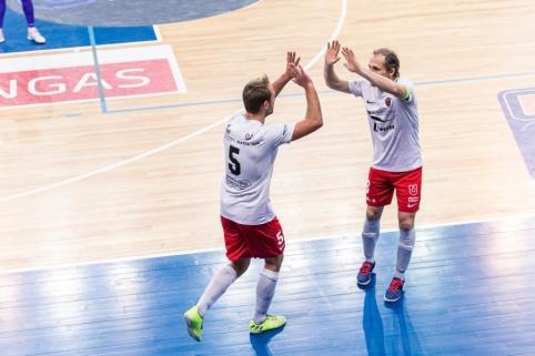 Futsal A lygoje bus išbandyta vaizdo peržiūrų sistema