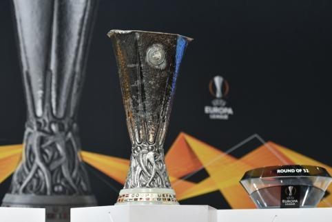 Ištraukti Europos lygos ketvirtfinalio burtai