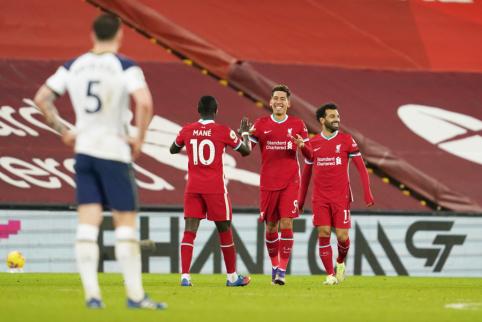 """Liverpool"" ekipa tapo vienvalde ""Premier"" lygos lydere"