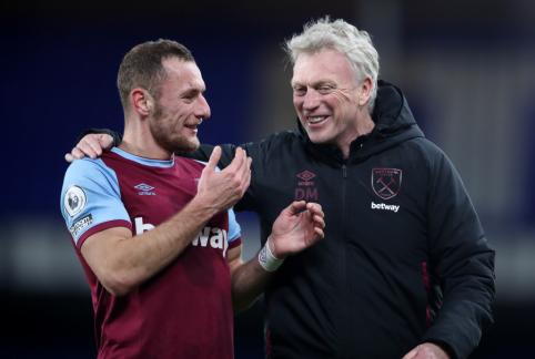 """Vėlyvas T. Souceko įvartis atnešė """"West Ham"""" ekipai pergalę prieš """"Everton"""""""