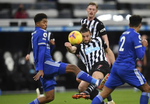 """Leicester"" susitvarkė su ""Newcastle"""