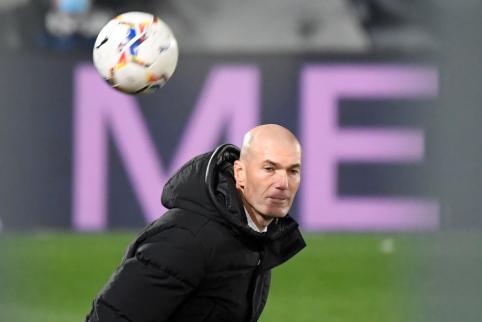 """Z. Zidane'as: """"Tai nebuvo futbolo rungtynės"""""""