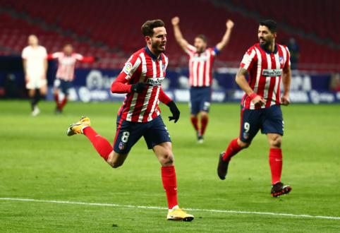 """""""Atletico"""" didina savo pranašumą Ispanijoje"""