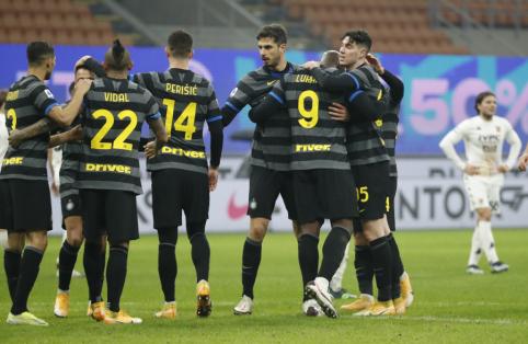"""Inter"" reabilitavosi prieš  ""Benevento"" ekipą"