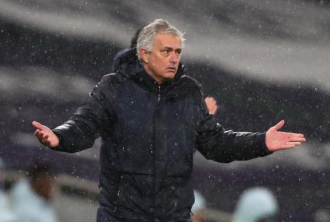 """""""Tottenham"""" nusižiūrėjo J. Mourinho įpėdinį"""