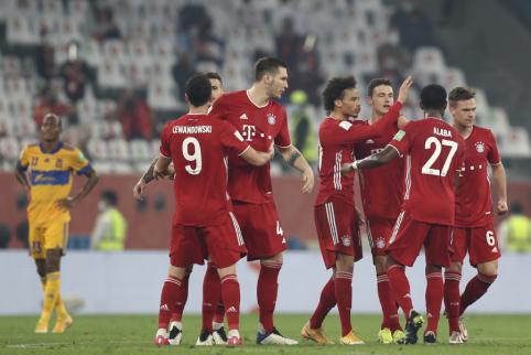 """""""Bayern"""" iškovojo FIFA klubų Pasaulio taurę"""