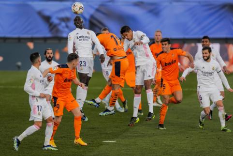"""""""Real"""" nesunkiai susitvarkė su """"Valencia"""""""