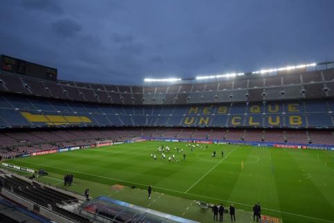 """""""La Liga"""" pradėjo tyrimą prieš """"Barcelona"""" ekipą"""