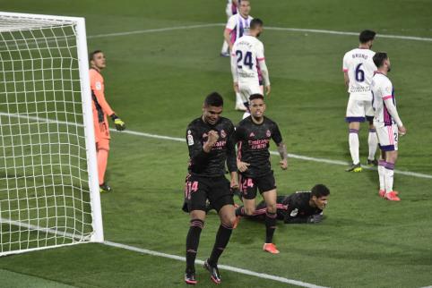 """""""Real"""" išvargo pergalę prieš """"Valladolid"""""""