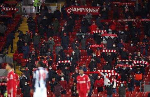 Naujas planas: fanai į stadionus Anglijoje sugrįš gegužės mėnesį