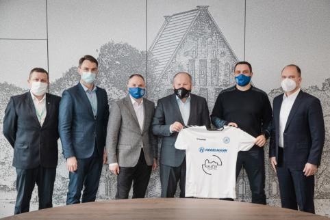 """Kauno rajono savivaldybė yra pasirengusi bendradarbiauti su """"Hegelmann Litauen"""""""