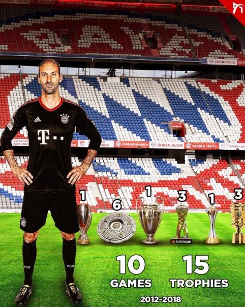 """Įspūdinga vartininko T. Starke karjera """"Bayern"""" gretose"""