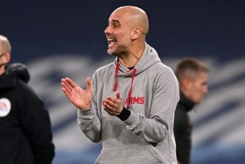 """P. Guardiola: """"Tai buvo fantastiškos rungtynės"""""""