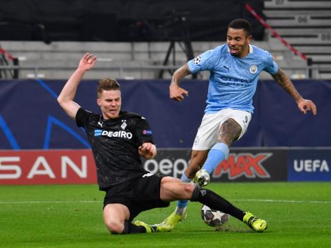 """Čempionų lyga: nusivažiavę vokiečiai – prieš spindintį """"Man City"""""""