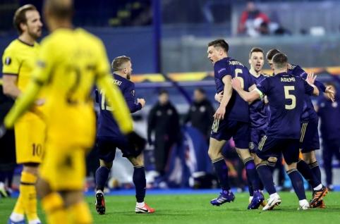 """""""Hat-tricką"""" pelnęs M. Orsičius eliminavo """"Tottenham"""" iš Europos lygos"""