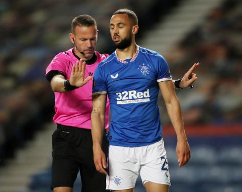 """""""Rangers"""" ir """"Slavia"""" rungtynėse - žiaurus smūgis ir rasizmo apraiškos"""