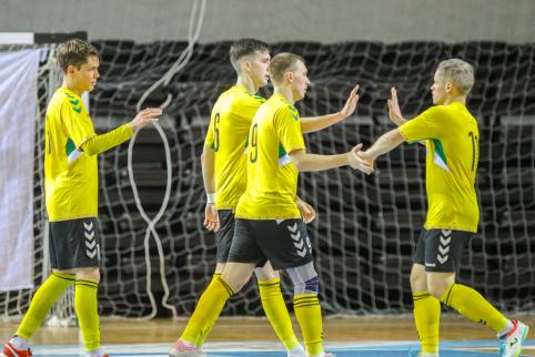 Pristatytos naujojo Futsal A lygos sezono gairės