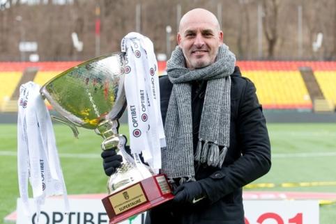 """J. Martinsas: """"Šiandien taip pat laimėjo ir lietuviškas futbolas"""""""
