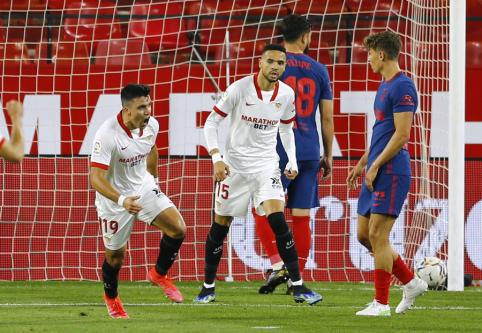 "Ispanijoje darosi karšta: ""Sevilla"" nukovė ""Atletico"""