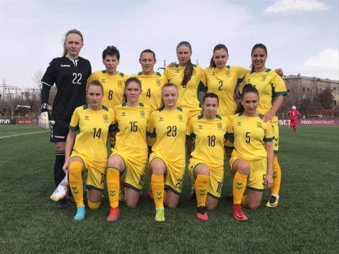 Moterų rinktinė pergalingai pradėjo tarptautinį turnyrą Armėnijoje