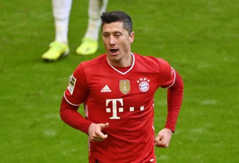 """Prastos žinios """"Bayern"""" ekipai: R. Lewandowskis praleis ir antrąsias rungtynes su PSG"""