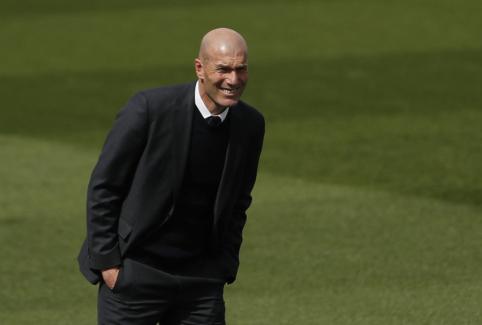 Z. Zidane'as: esame labai pavargę, bet laimingi
