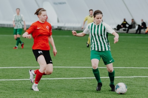 Moterų A lygos 3 turas: sostinės derbyje – įvartis per pridėtą laiką