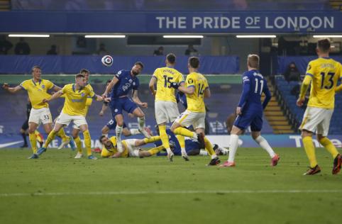 """""""Chelsea"""" nesugebėjo palaužti """"Brighton"""" ekipos"""