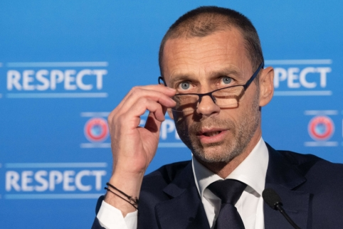 A. Čeferinas: UEFA ir P. Amerika boikotuos FIFA planus