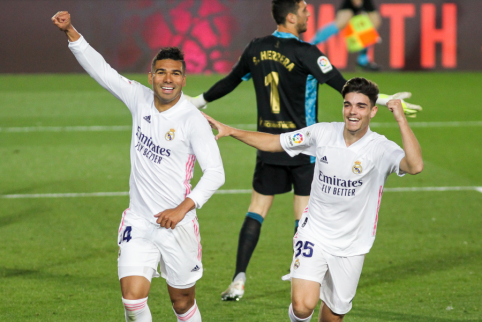 """Real"" mačo pabaigoje susitvarkė su ""Osasuna"""