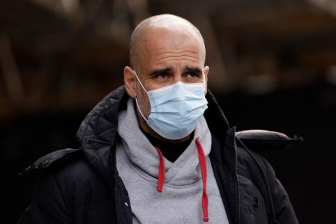 """P. Guardiola: """"Nenorime iššvaistyti šios galimybės"""""""