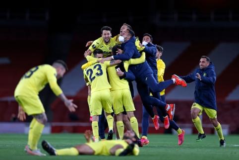 """Villarreal"" ir ""Man Utd"" žengė į Europos lygos finalą"