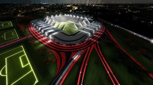 Artimiausiu metu prasidės Šeškinės stadiono statybos