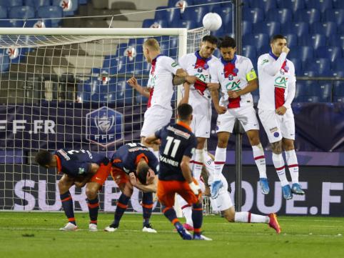 PSG prireikė 11 m baudinių serijos, kad prasimuštų į šalies taurės finalą