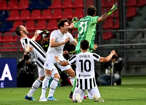"""""""Juventus"""" be C. Ronaldo pagalbos prasibrovė į Čempionų lygą"""
