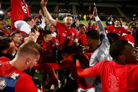 """""""LIlle"""" užbaigė PSG dominavimą Prancūzijos Supertaurėje"""