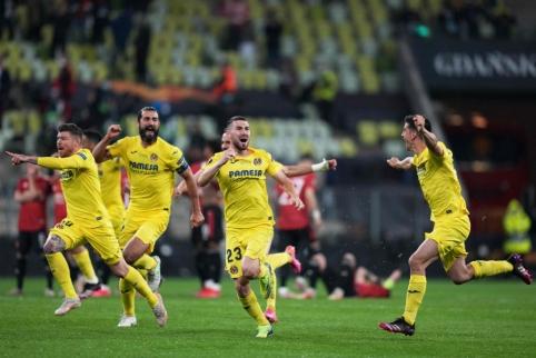 """Europos lygos finale – įspūdinga 11 metrų baudinių serija ir """"Villarreal"""" triumfas"""
