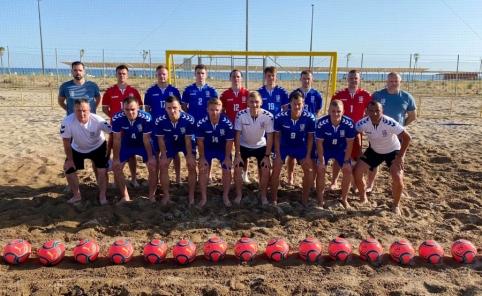 Kelyje į pasaulio čempionatą paplūdimio rinktinės lauks kazachai ir danai