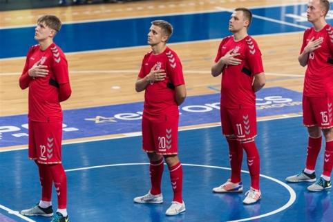 Futsal rinktinė kontroliniame mūšyje neatsilaikė prieš Sakartvelą