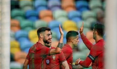 Paskutinėse kontrolinėse rungtynėse prieš EURO2020 portugalai lengvai įveikė Izraelį